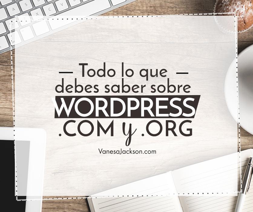 diferencias de wordpress - Todo lo que debes saber sobre Wordpress.com y Wordpress.org