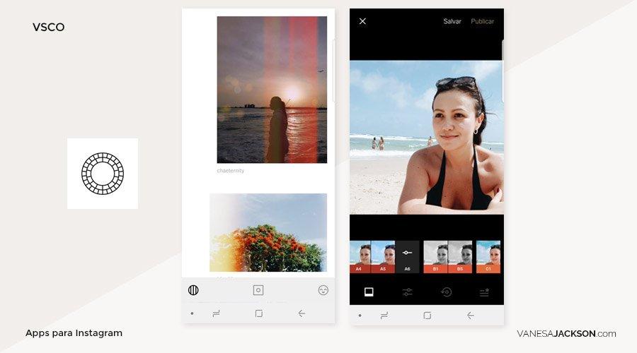 app para edición de foto en instagram