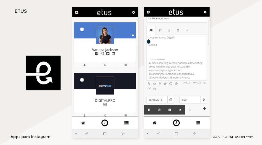 apps para programar en instagram